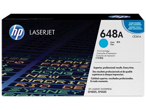 toner hp laser 648a (ce261a) cyan /p4525dn