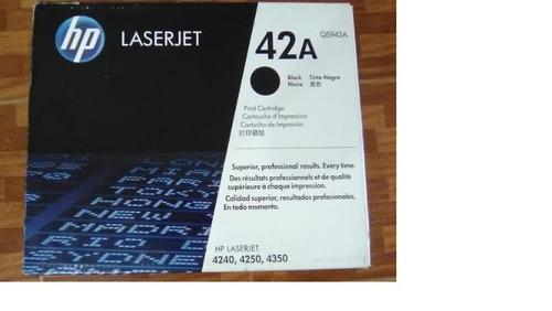 toner hp laserjet 42a