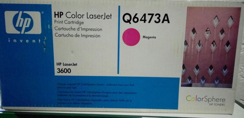 toner hp original laserjet hp 502a 3600 q6471,72,73