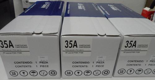 toner hp35a genérico p/ p1002 p1003 p1005 p1006 p1007 p1008