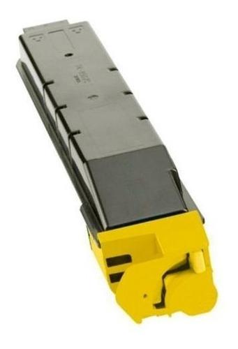 toner integral tk8307 amarelo p/ kyocera 3050ci c/ chip