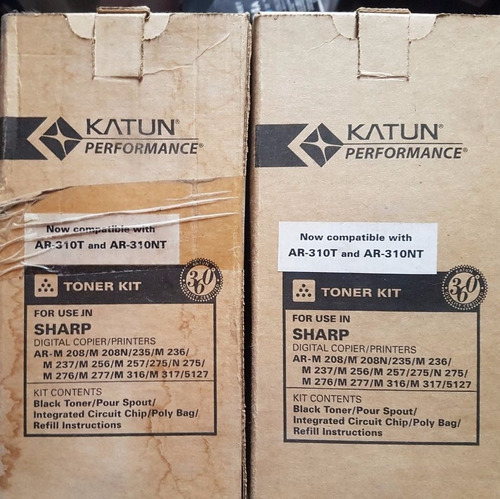toner katun performance compatible con ar-310t y ar-310nt