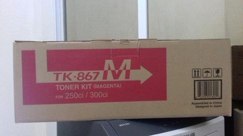 toner kyocera tk-867 magenta nuevo original