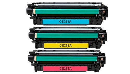 toner láser genérico rem hp ce263a / cp-4025 cp-4525 cm-4540