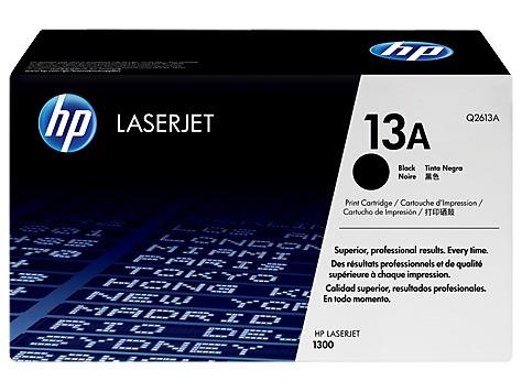 toner laser jet hp 13a (q2613a) 2500 paginas.