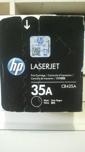 toner laserjet cartucho de impresion hp 35a