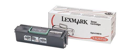 toner lexmark 12l0250 para optra w810
