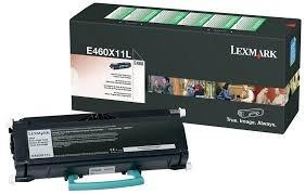 toner lexmark e460x11l original con garantia