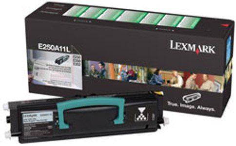 toner lexmark laser original e250a11l 250 e350 e352