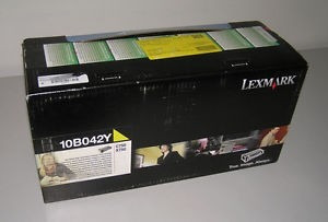 toner lexmark original c-750/x-750 yellow cod. 10b042y