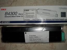 toner oki b4300  original  negro  42102901