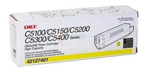 toner oki original - modelo c5100/ c5150/c5200/c5300/c5400