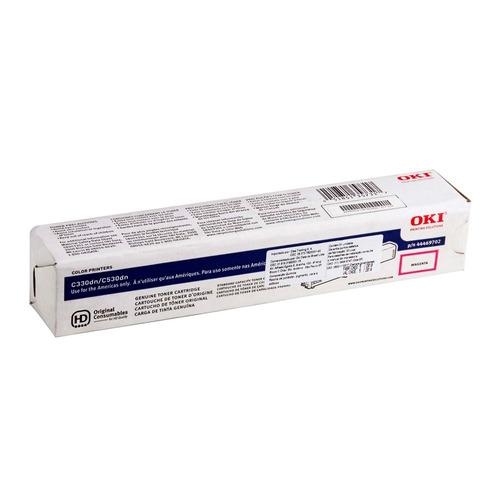 toner okidata original 44469702 magenta c330 c331 c361 c561