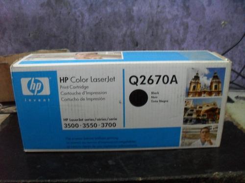 toner original hp q2670a