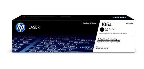 toner original laser hp 105a w1105a 107a 107w 135w negro
