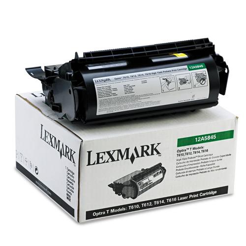 toner original lexmark 12a5845 optra t 25000 copias (oferta)