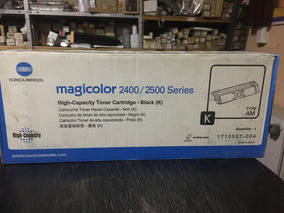 KONICA MINOLTA MAGICOLOR 5550 Black Original Toner 6,000 Yield