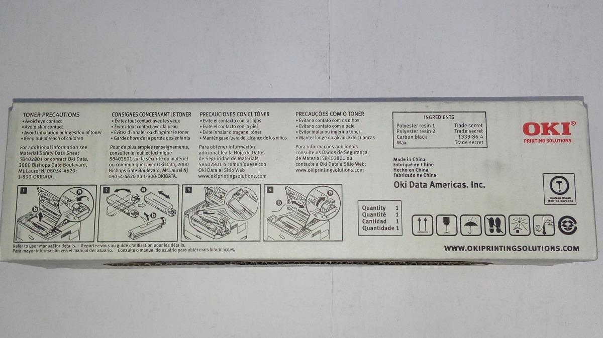 Toner Original Oki B431d/b431dn/mb461/mb471 N/p 44574901
