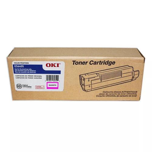toner original okidata es6405 magenta p/n 44315342