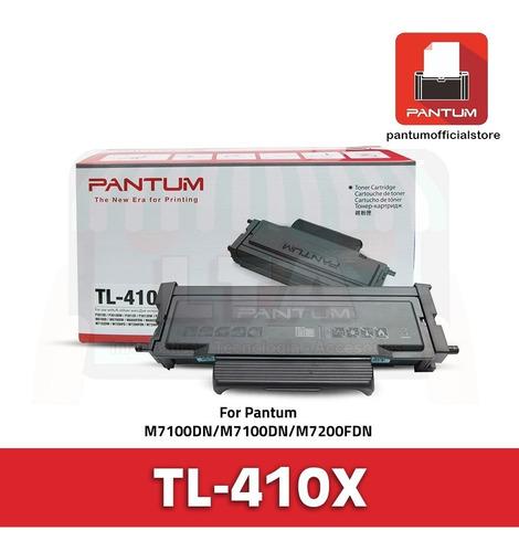 toner original pantum tl-410x 6000 copias p3010dw p3300dw