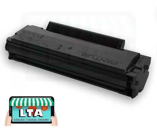 toner original recargable para pantum p2500w 1600 copias lta