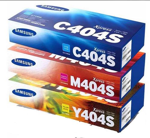 Toner Original Samsung C404 Y404 M404 Para C430w C480w