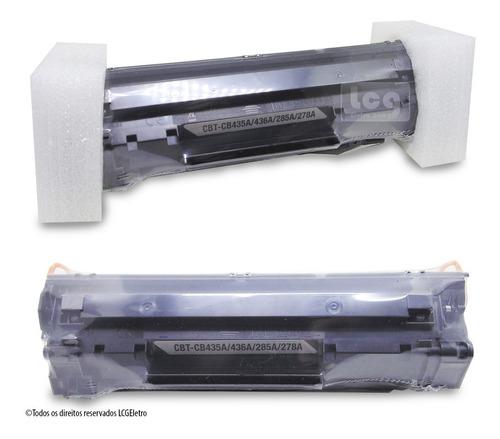 toner p/ impressora cb435a 436a ce285a 278a universal 3un