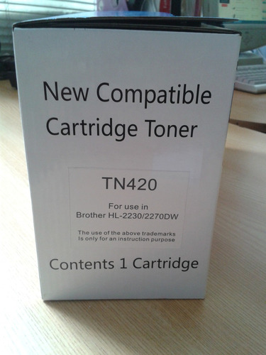 toner para brother hl 2240 tn 420
