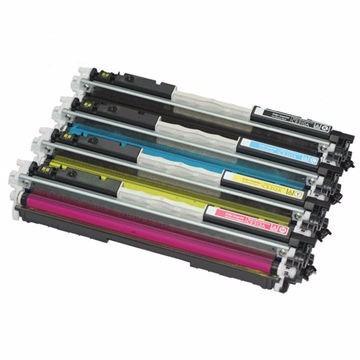 toner para hp 130a canon lbp 7010c 7018c   pack x4