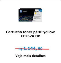toner para impressoras hp 504a ce252 ce253