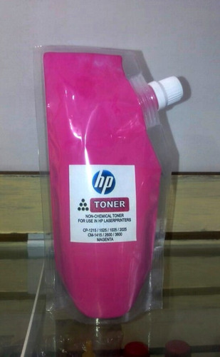 toner recarga hp color cp1025/1215/2600 universal.100 gramos