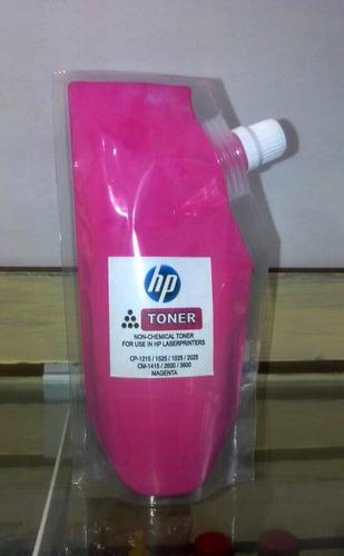 toner recarga hp color cp1025/1215/2600 universal.150 gramos