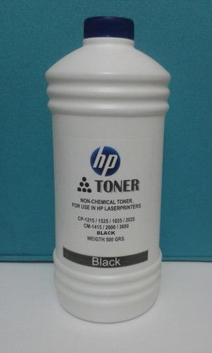 toner recarga hp color negro 1025/1215/2600 universal.500grm