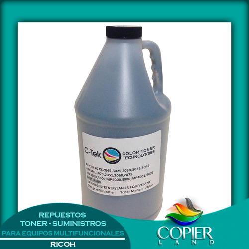 toner ricoh 500grs aficio 1035/1045/mp3500/4000/4500/5000