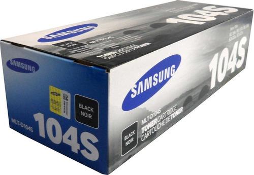 toner samsung 104 negro mlt-d104s original ( d104s ) 104s