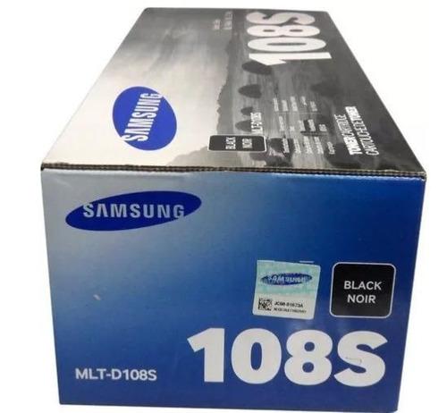 tóner samsung 108s negro mlt-d108s