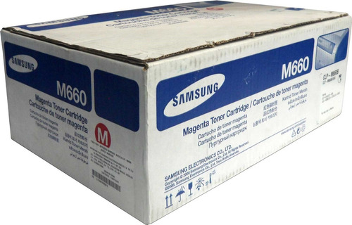 toner samsung 660b magenta clp-m660b clp610 clp660 clx6200nd