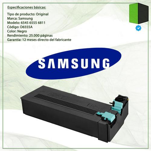 toner samsung scx-d6555a para scx-6545n 25000 pag original