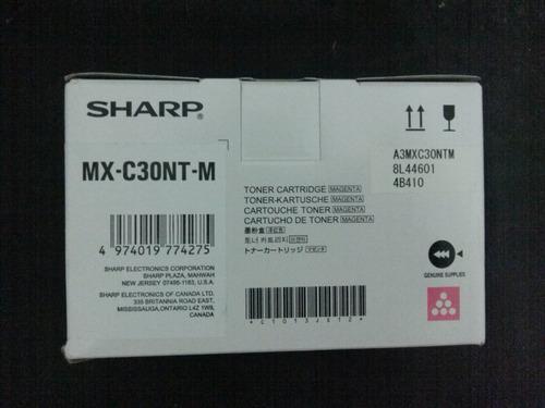 toner sharp mx-c300w color