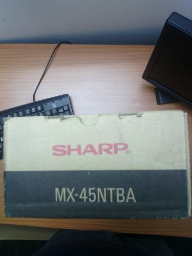 toner sharp mx45ntba(original)