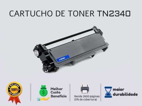 toner tn2340 para dcp-l2520 l2520d l2520dw dcp-l2540dw l2540