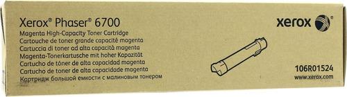 toner xerox 106r01524 magenta 12kpgs ph 6700 original envio