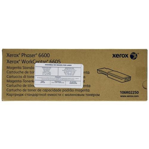 toner xerox 106r02250 magenta para wc6605 ph6600 +c+