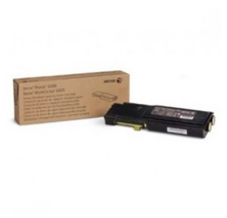 toner xerox amarillo para wc6605 / ph6600