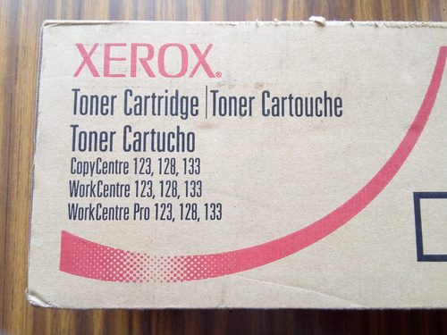 toner xerox original workcentre 123 / 128 / 133  006r01182