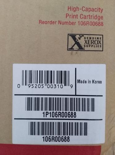 toner xerox phaser 3450 original negro 106r00688