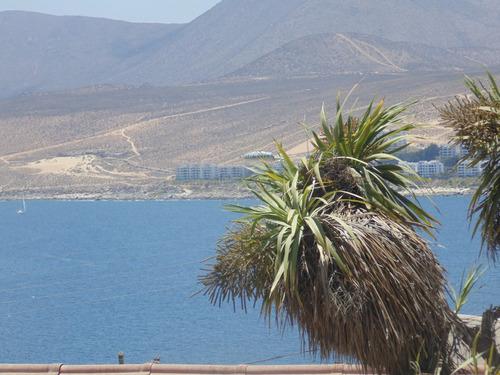 tongoy hermosa vista gran terraza. península