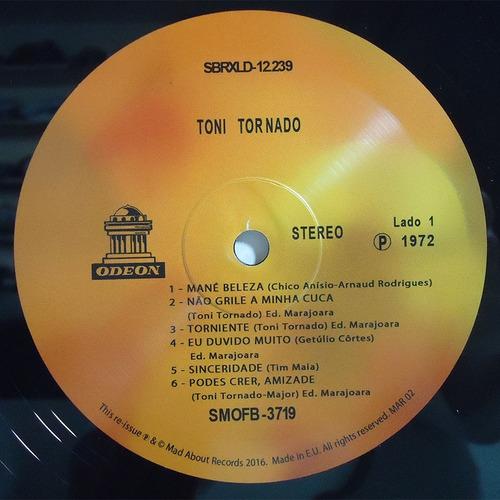 toni tornado 1972 lp mané beleza edt limitada lacrado tony