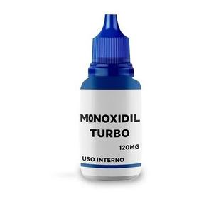 Tônico Capilar Monoxidil Turbo Original 120g O Mais Potente