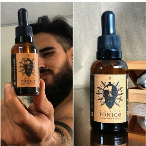 tonico crecimiento barba larga x2 unidades activador piloso